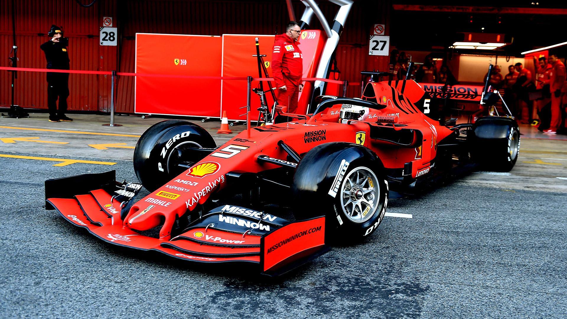 Ferrari Wallpaper 4K F1