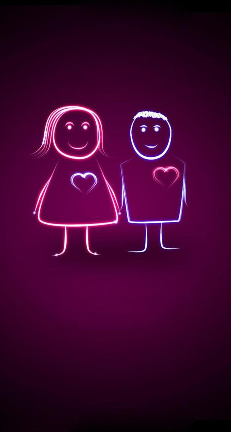 Free Cute Couple Wallpapers For Iphone, Download Free Clip Art, Free