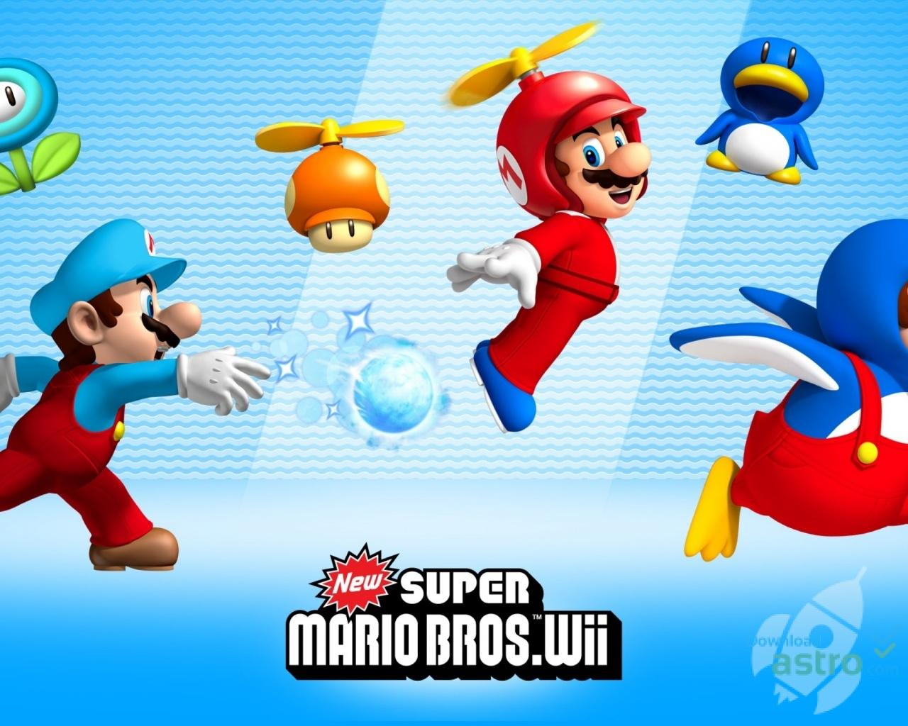 Super Mario Bros Wallpapers Wallpaper Cave