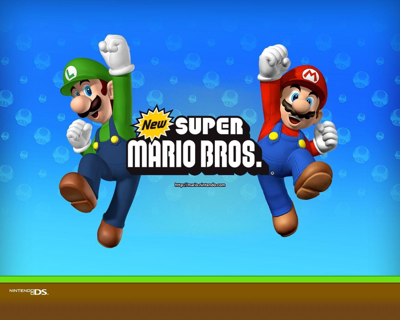 Super Mario Bros Wallpapers Wallpaper Cave