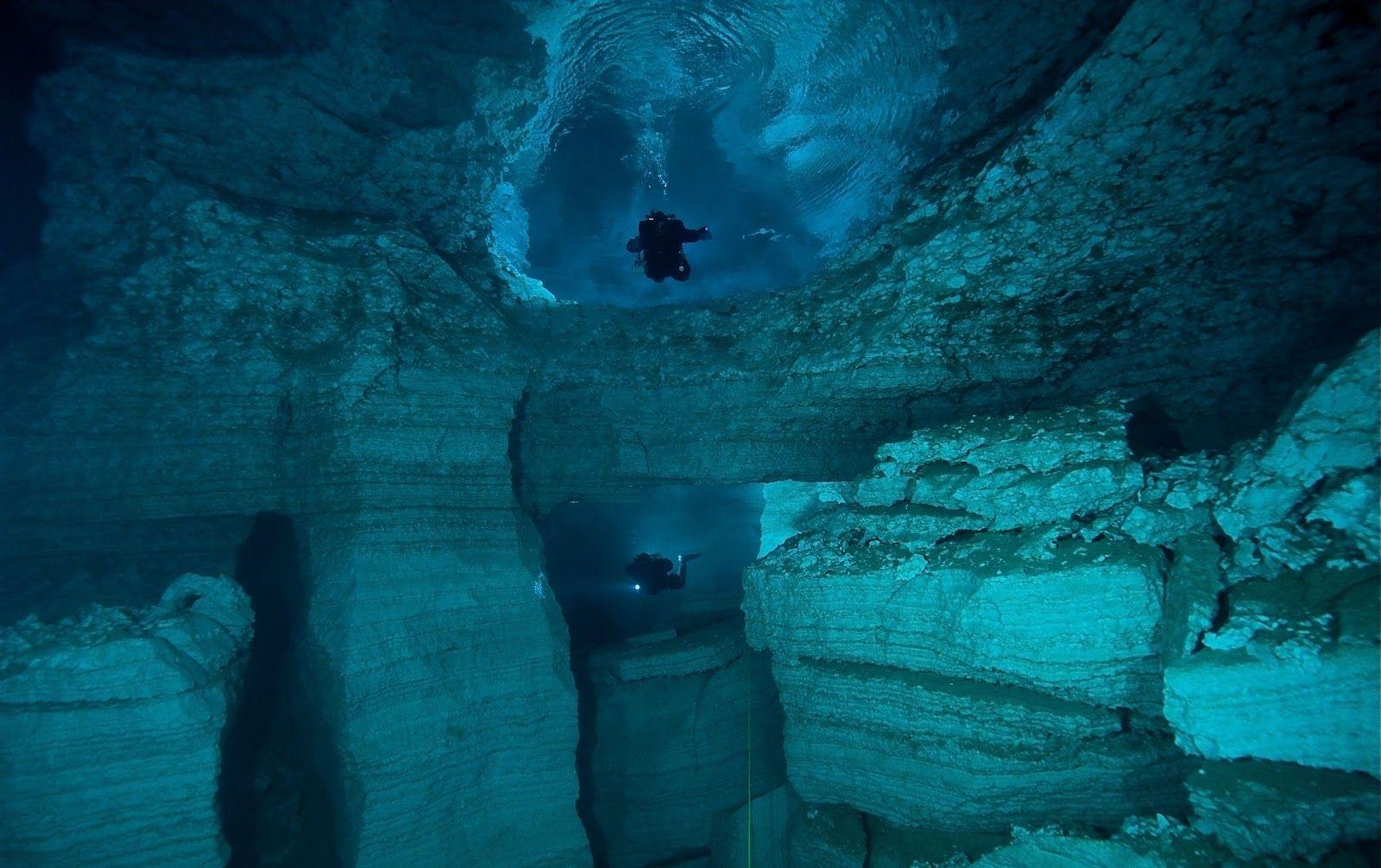 Download Beautiful Nature Cave Diving Wallpapers