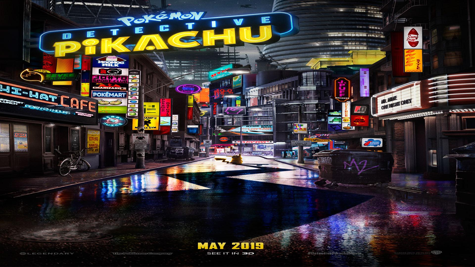 "Pokemon Detective Pikachu"" Comes To Life In First Trailer – PAGEONE"
