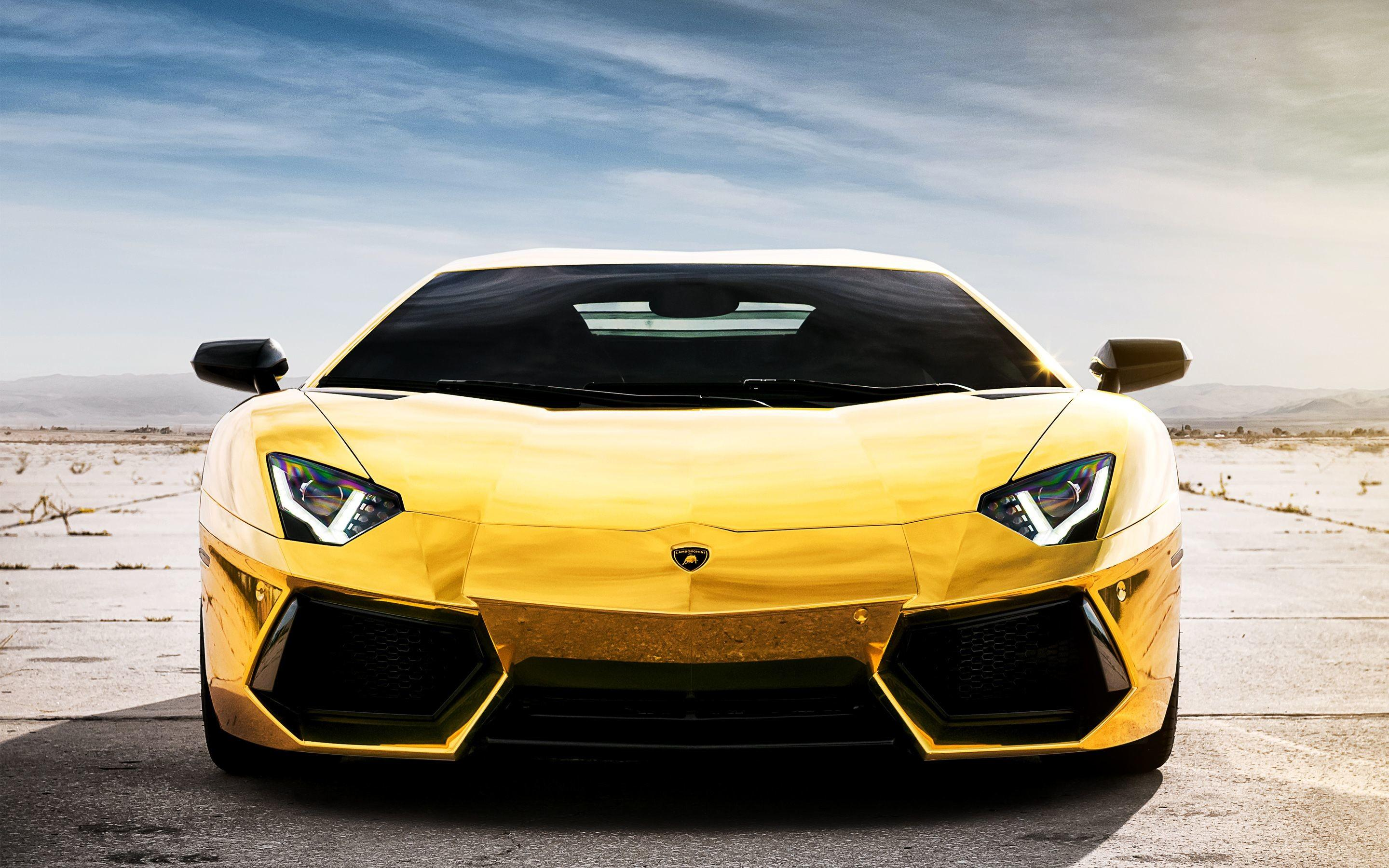 Gold Supercars Wallpapers Wallpaper Cave