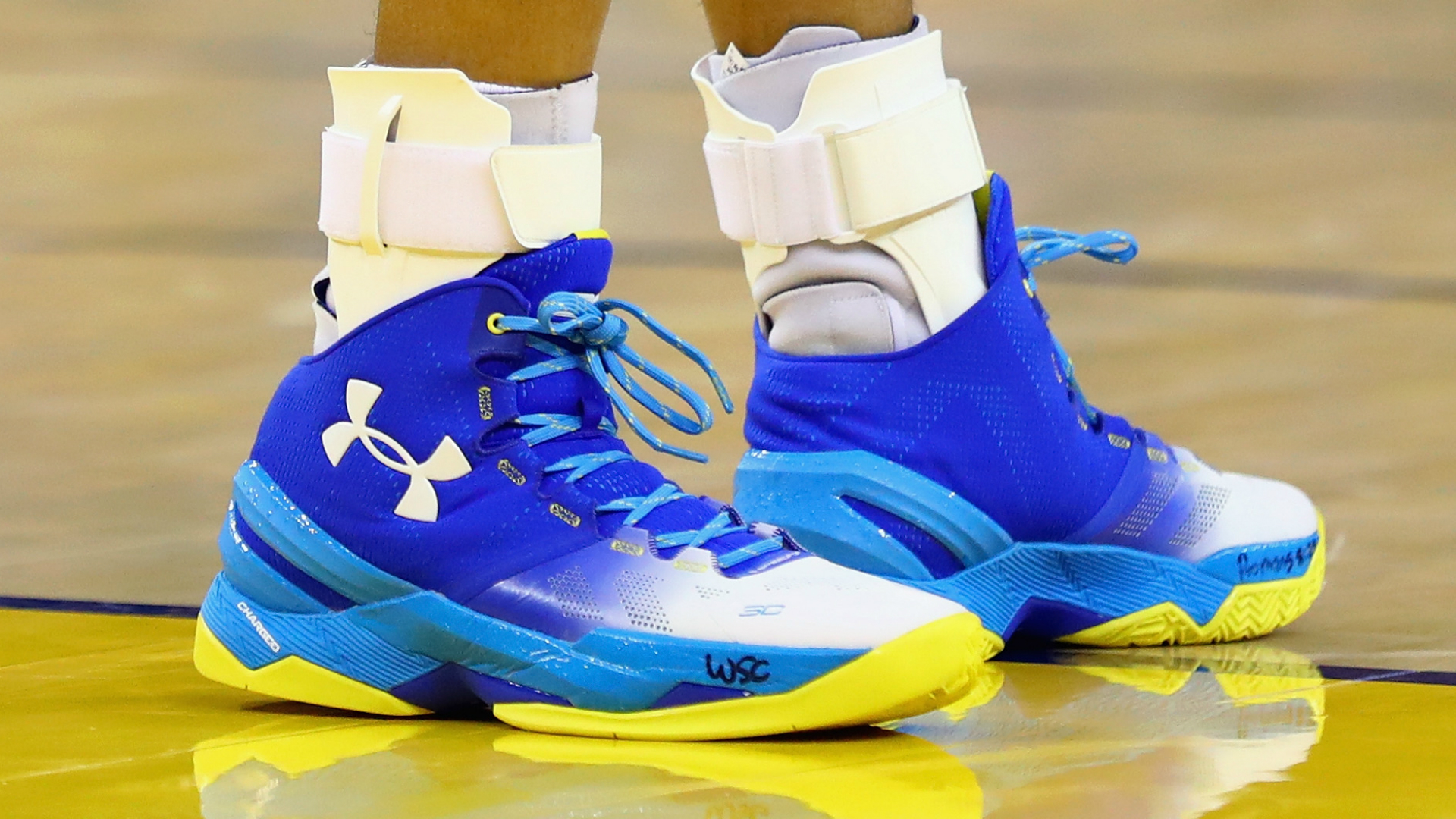 ca93777c Stephen Curry shoe sales fall hard, along with Under Armour stock .