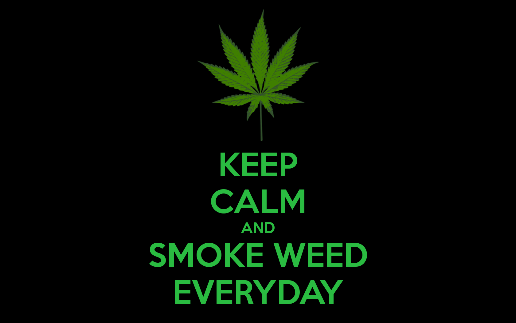 Group of Calm Smoke Weed Wallpaper