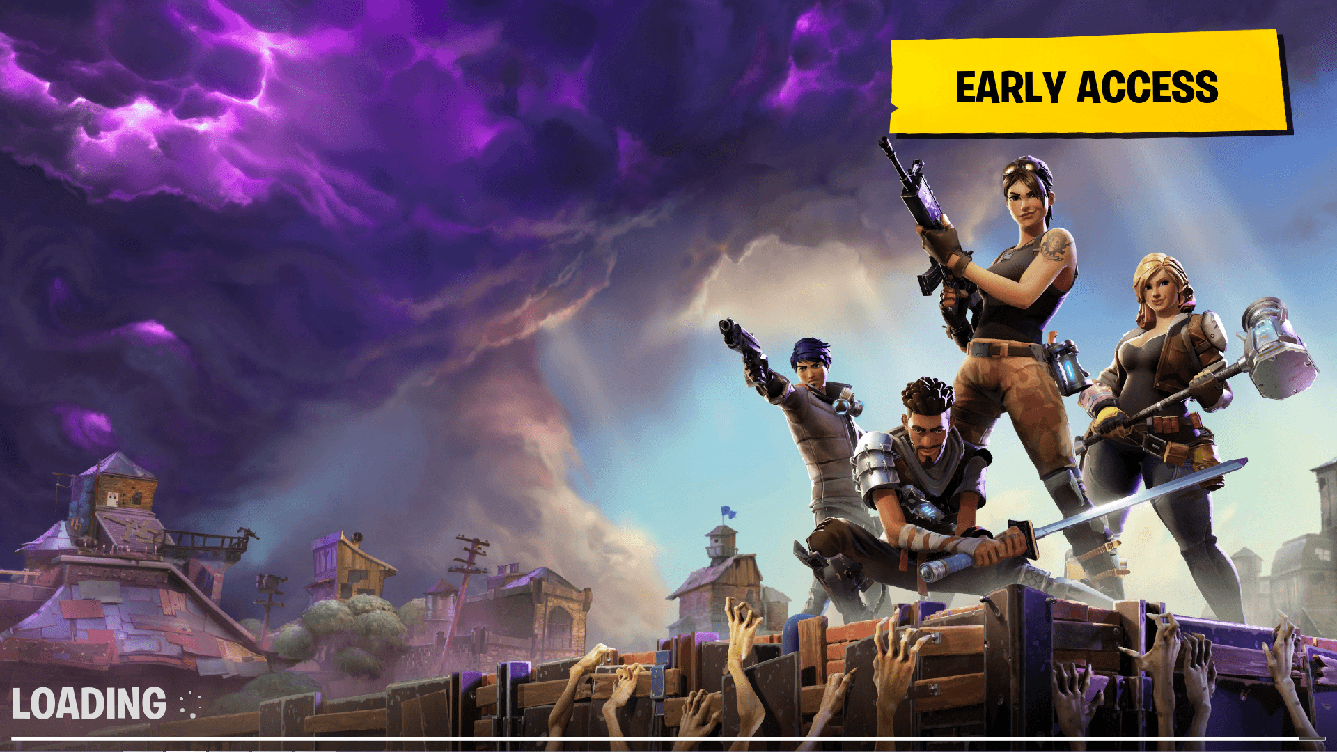 Just installed the game. Can't get past this first loading screen no ...