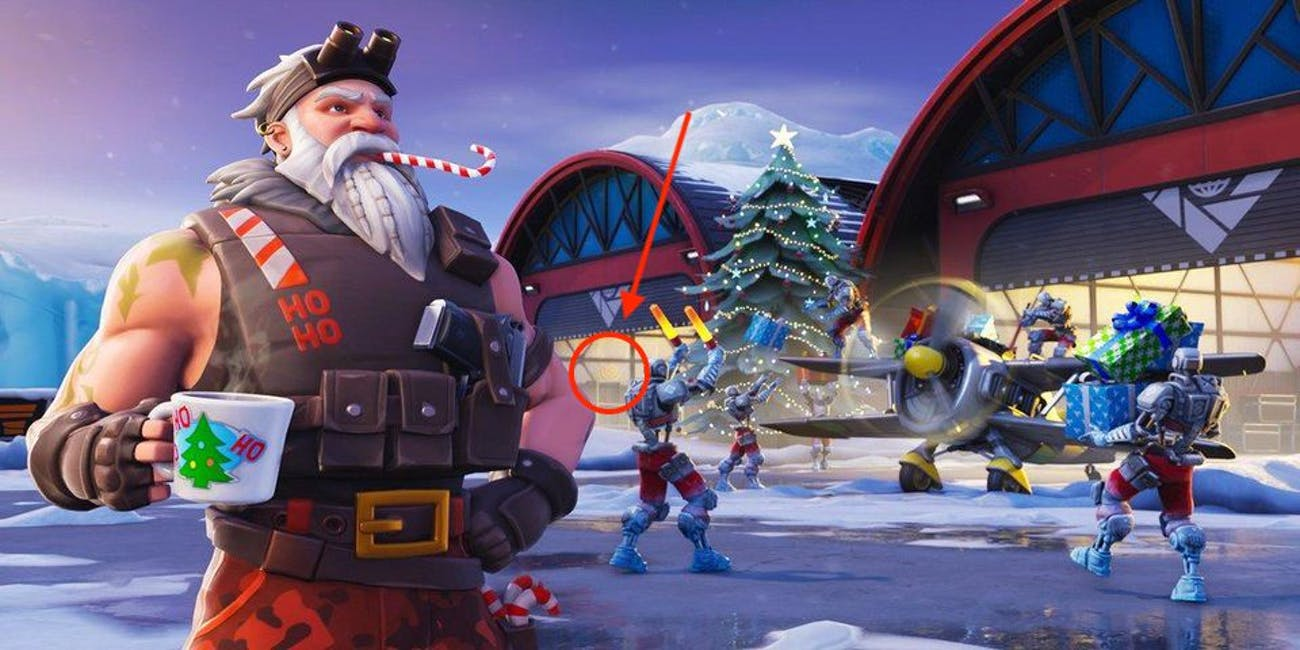 Fortnite' Week 3 Secret Battle Star Location Map: Snowfall Challenge ...