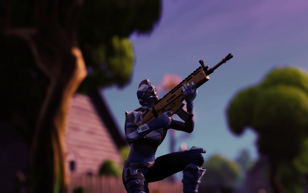 Download 1280x800 Fortnite, Skin, Battle Royale Games Wallpapers for