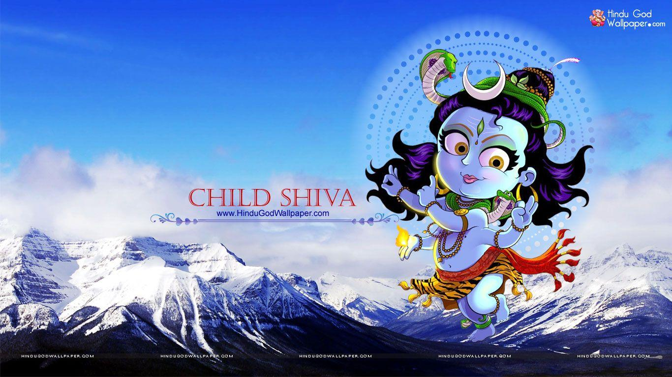 Shiva Cartoon Wallpapers Wallpaper Cave