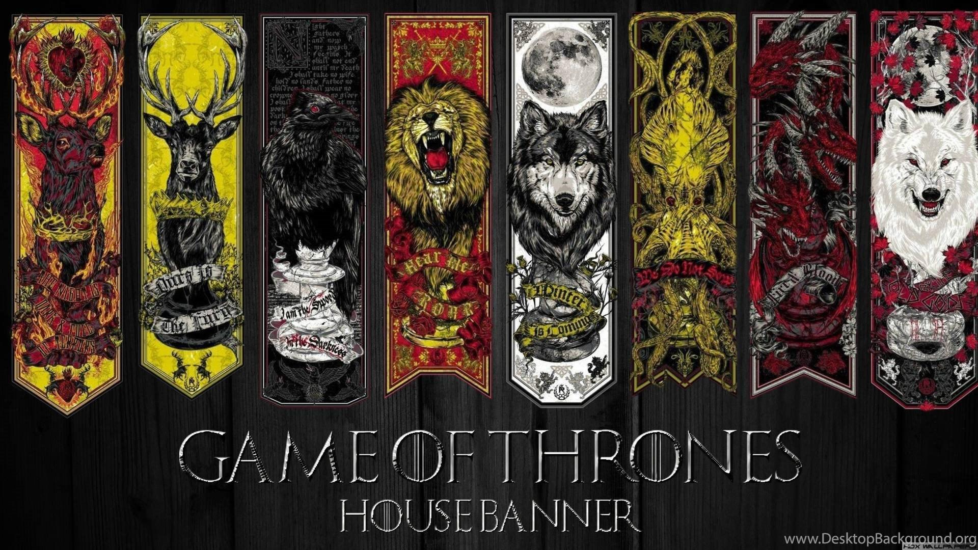 Game Of Thrones Houses Wallpapers Wallpaper Cave