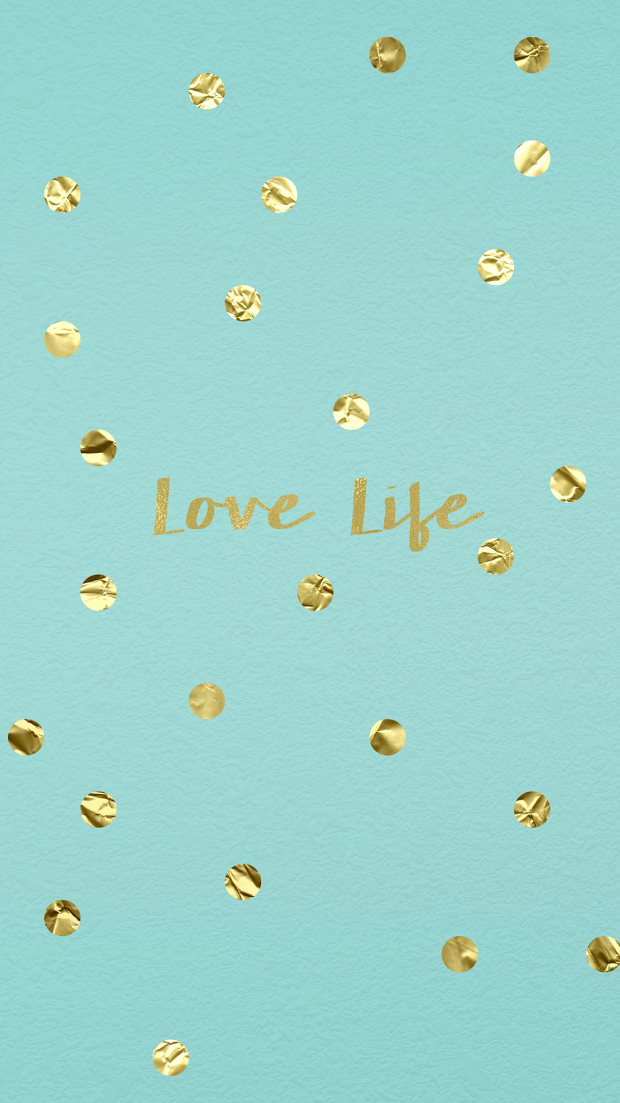 wallpaper, background, hd, iphone, gold, confetti, tiffany, blue ...