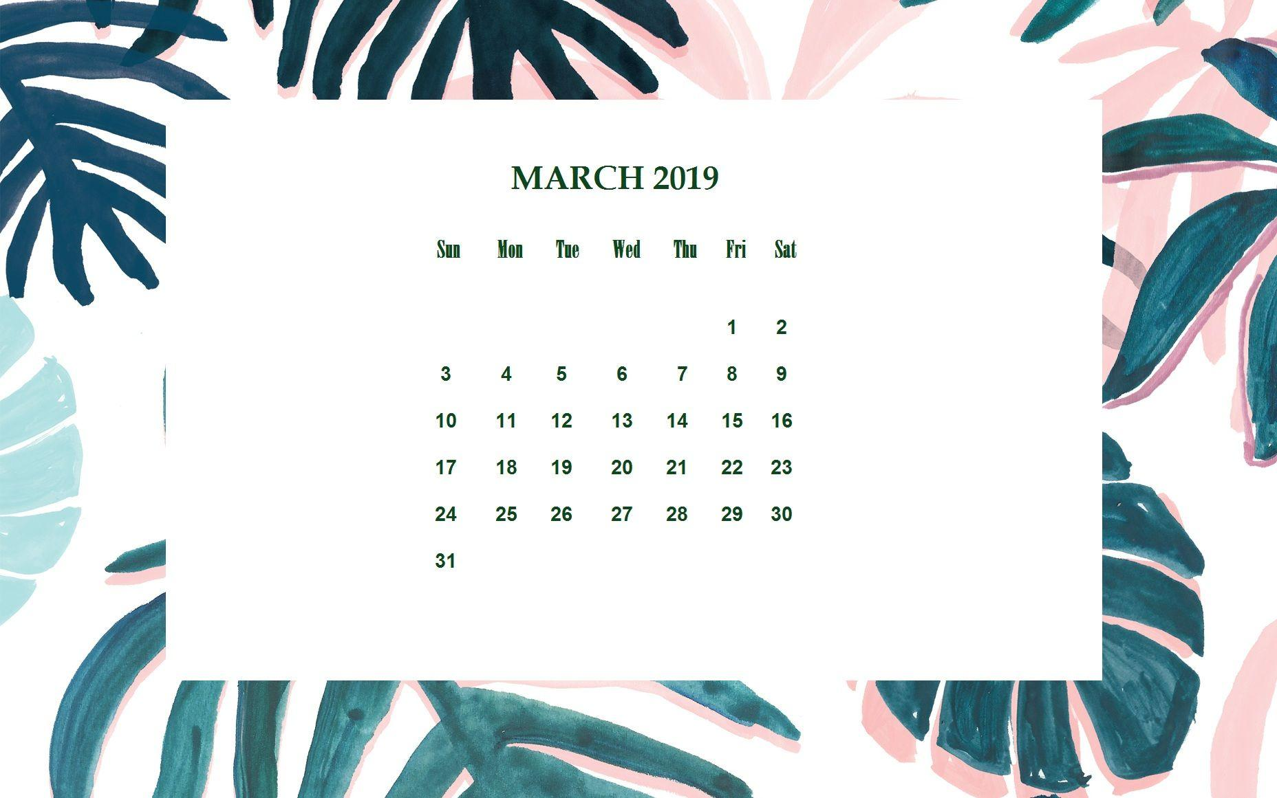 Excellent March 2019 Calendar Wallpapers Wallpaper Cave Download Free Architecture Designs Xoliawazosbritishbridgeorg