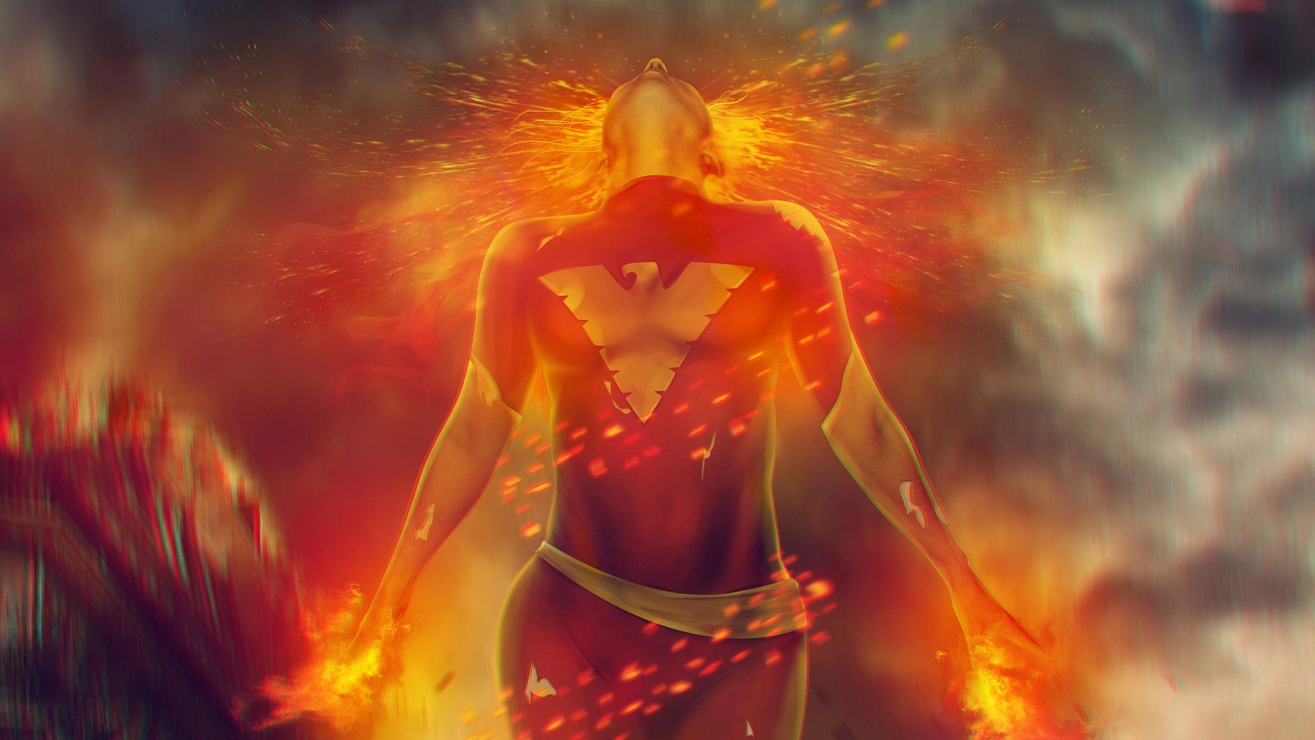 Dark Phoenix Wallpapers - Wallpaper Cave