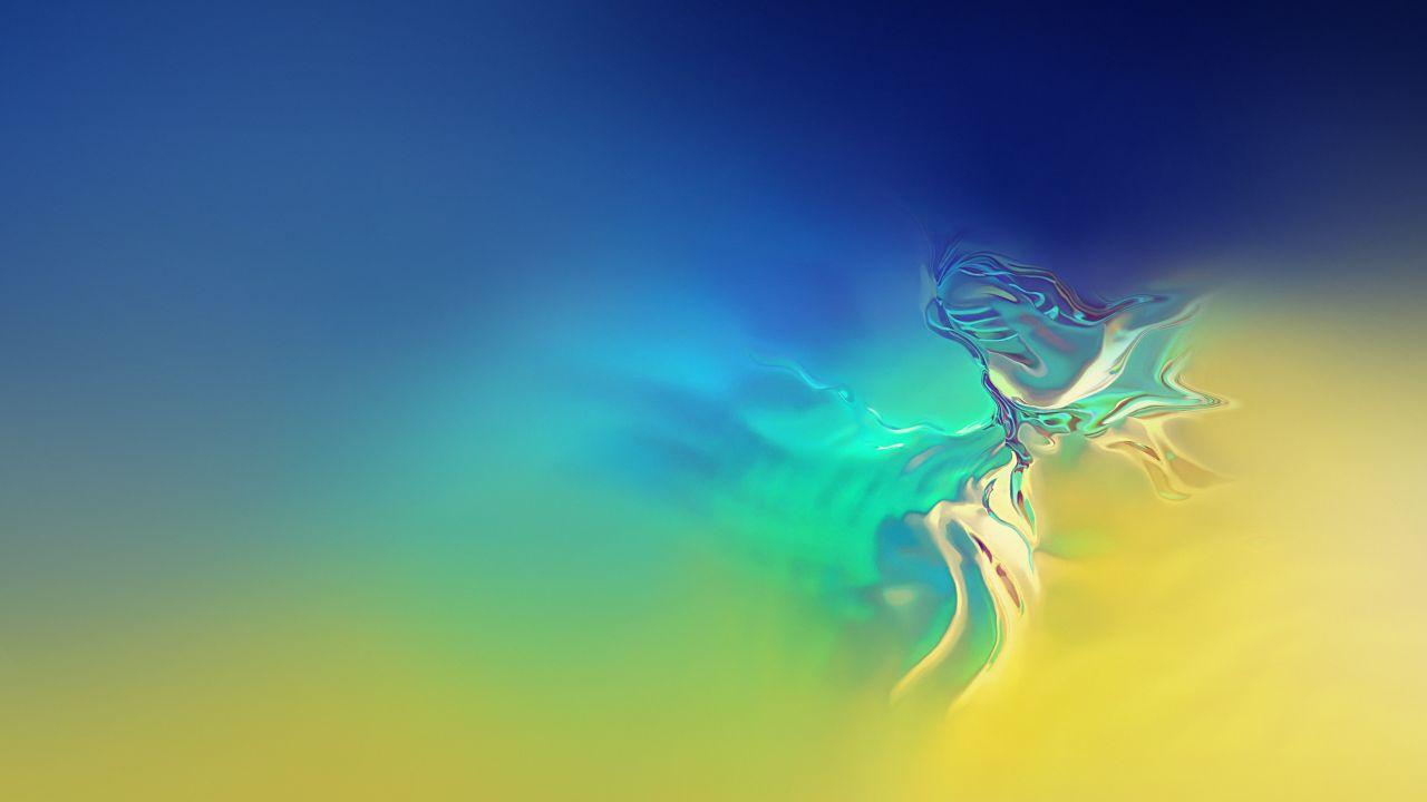 Wallpapers Samsung Galaxy S10, Stock, Gradients, HD, Abstract,