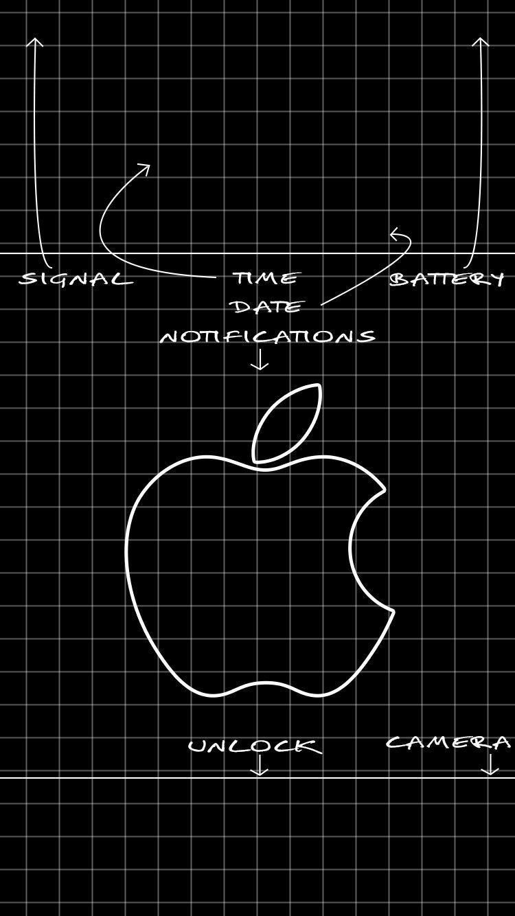 Black Hd Iphone 7 Plus Wallpapers Wallpaper Cave