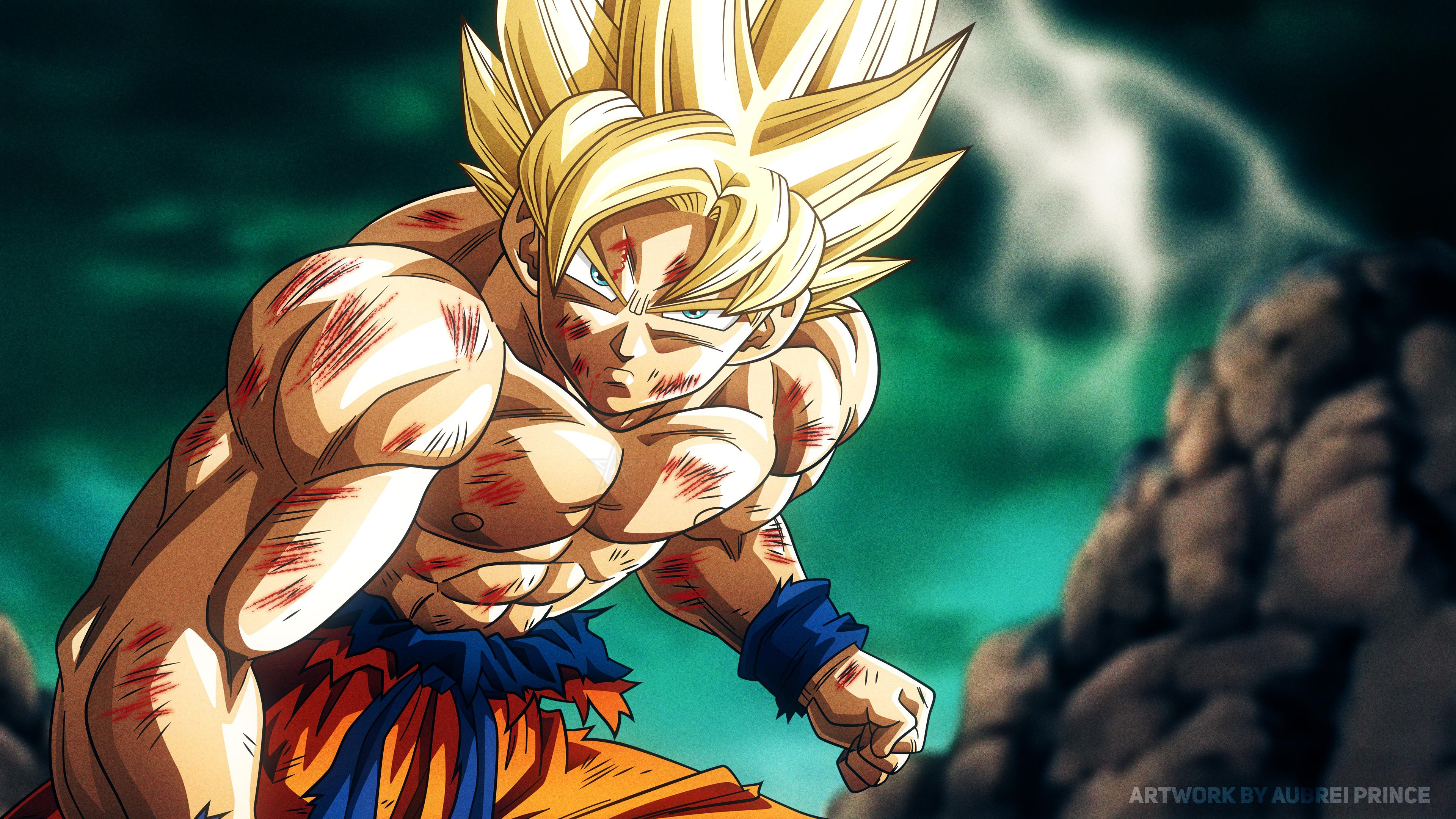 Dragon Ball Z Ultra Super Saiyan Wallpapers Wallpaper Cave