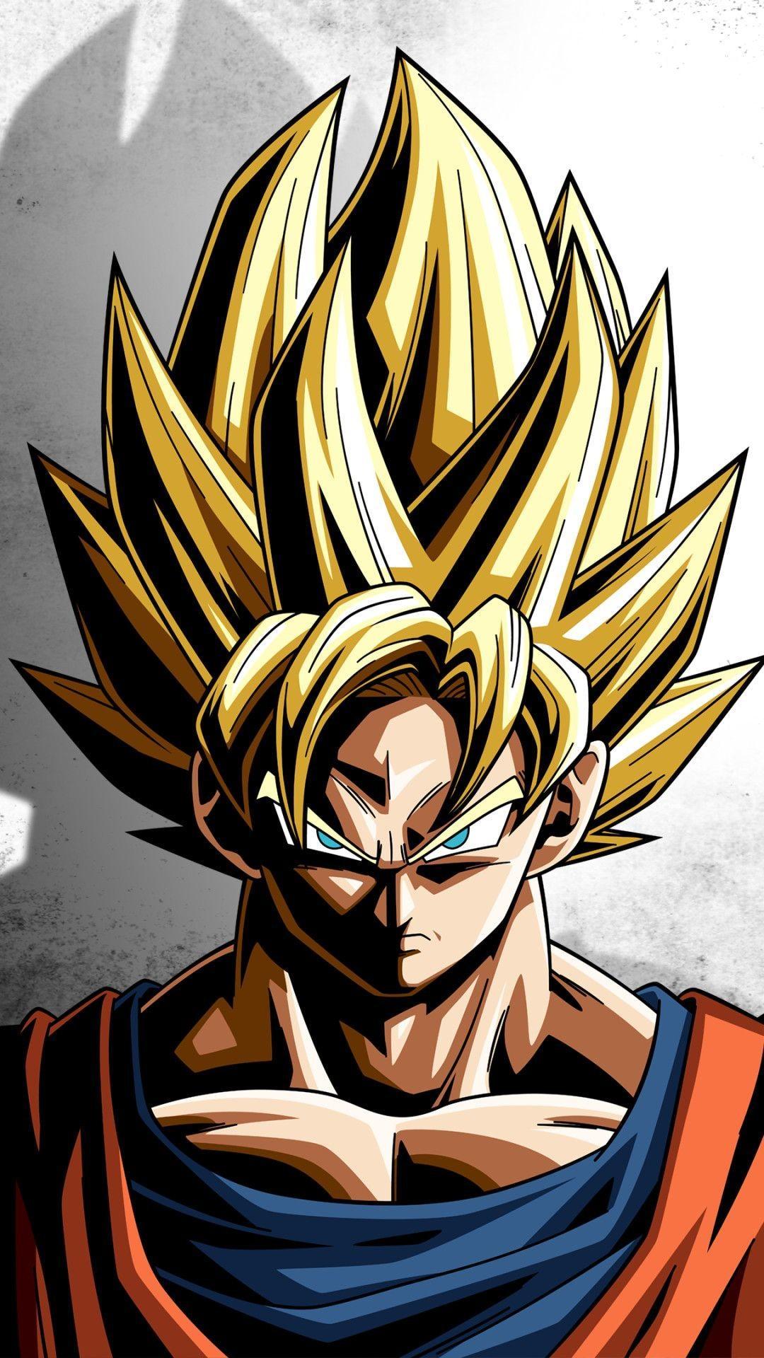 Goku Hd Mobile Wallpapers Wallpaper Cave