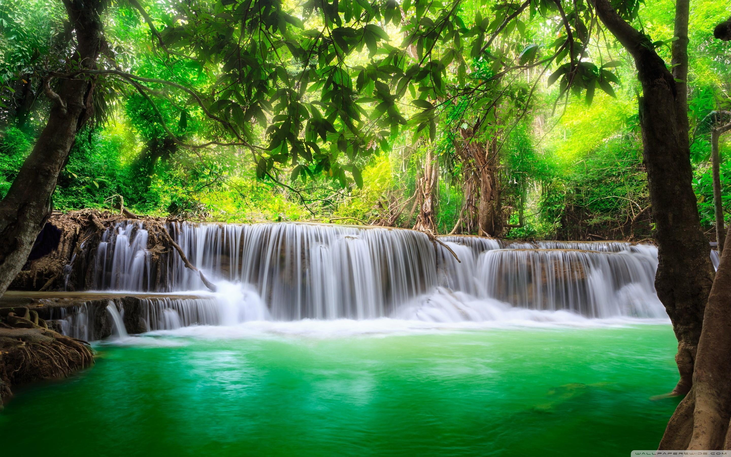Tropical Waterfall Wallpapers - Wallpaper Cave