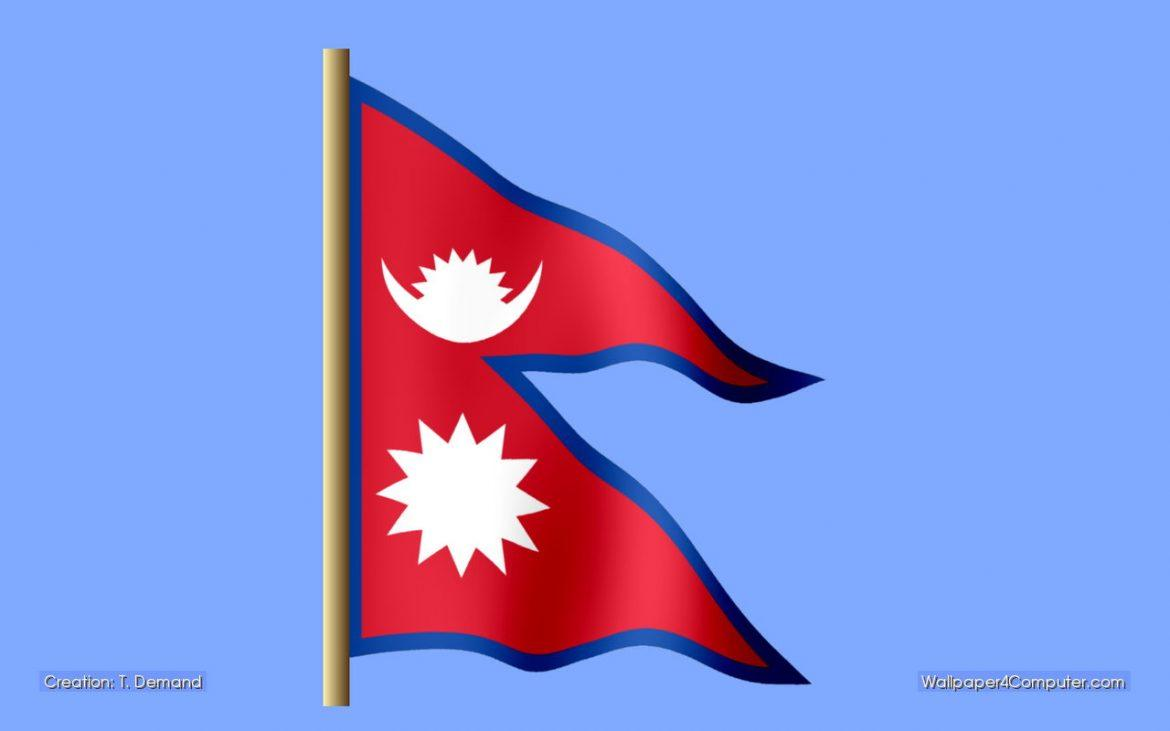 Nepal Flag Photo Download