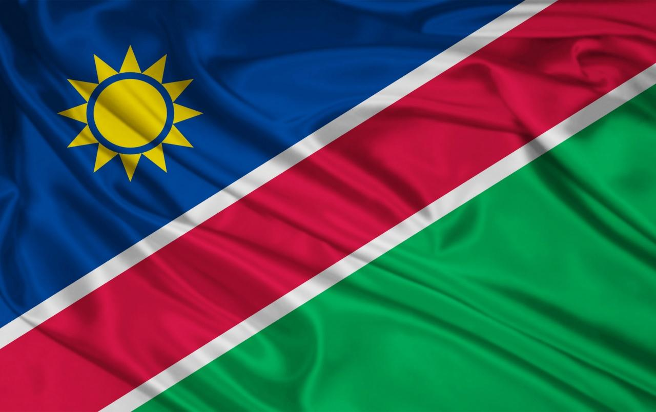 Namibia flag wallpapers