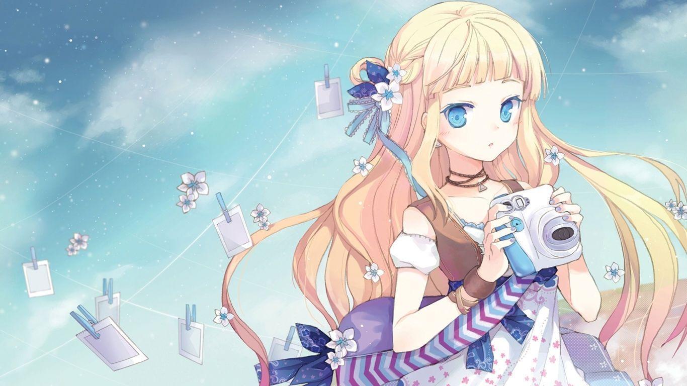 Anime Girl Kawaii Wallpapers Wallpaper Cave