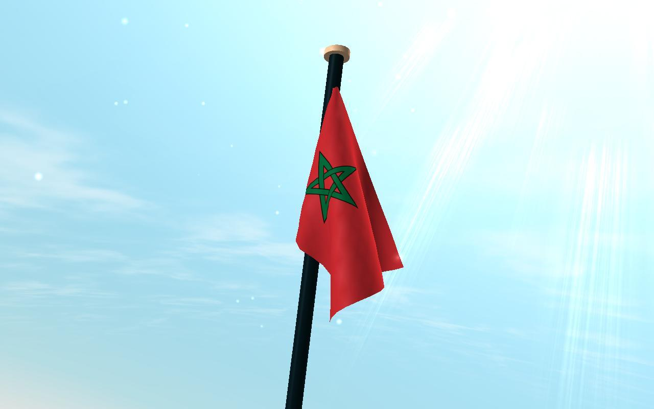 Morocco Flag 3D Free for Android
