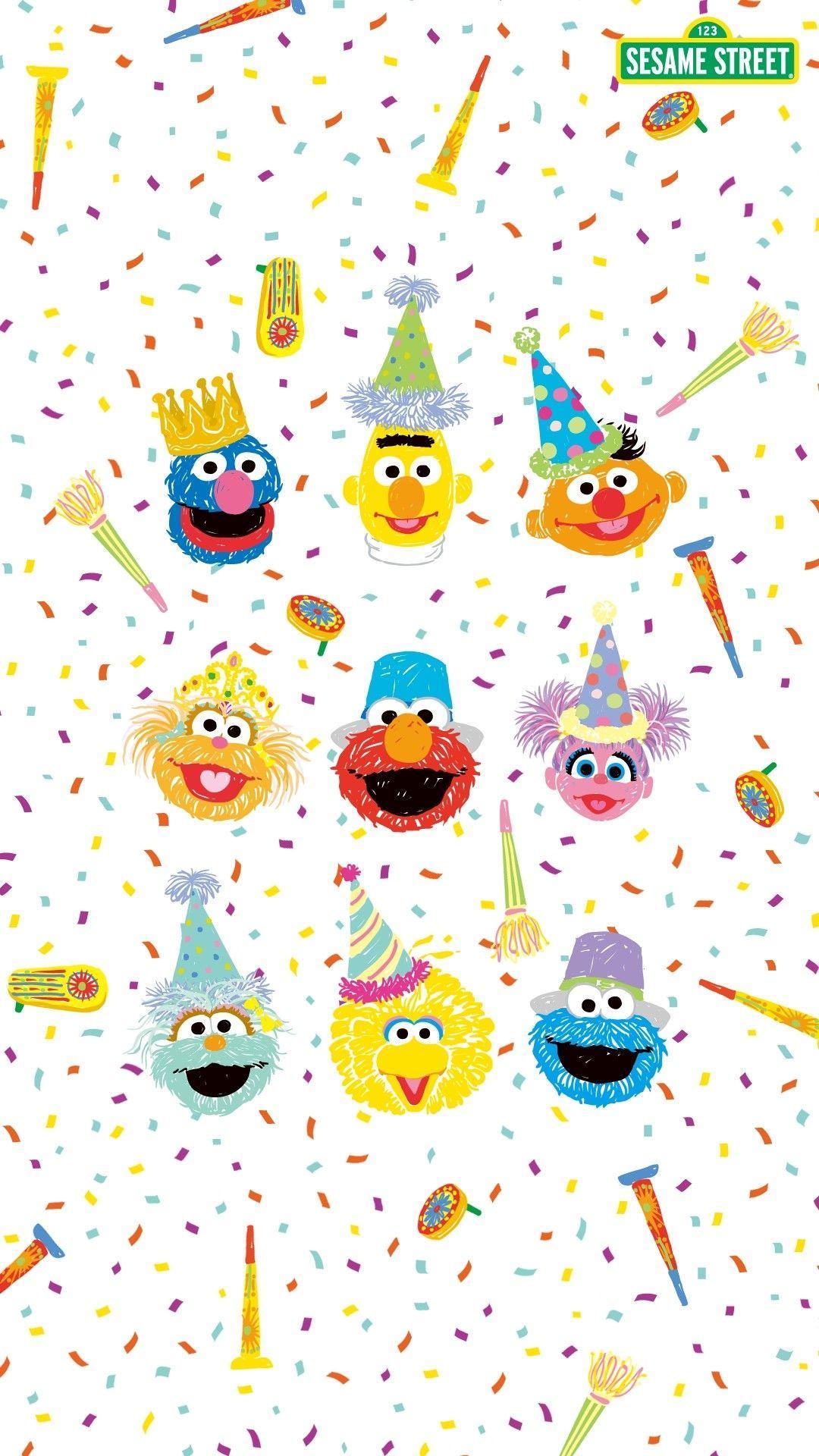 Sesame Street Wallpapers - Wallpaper Cave