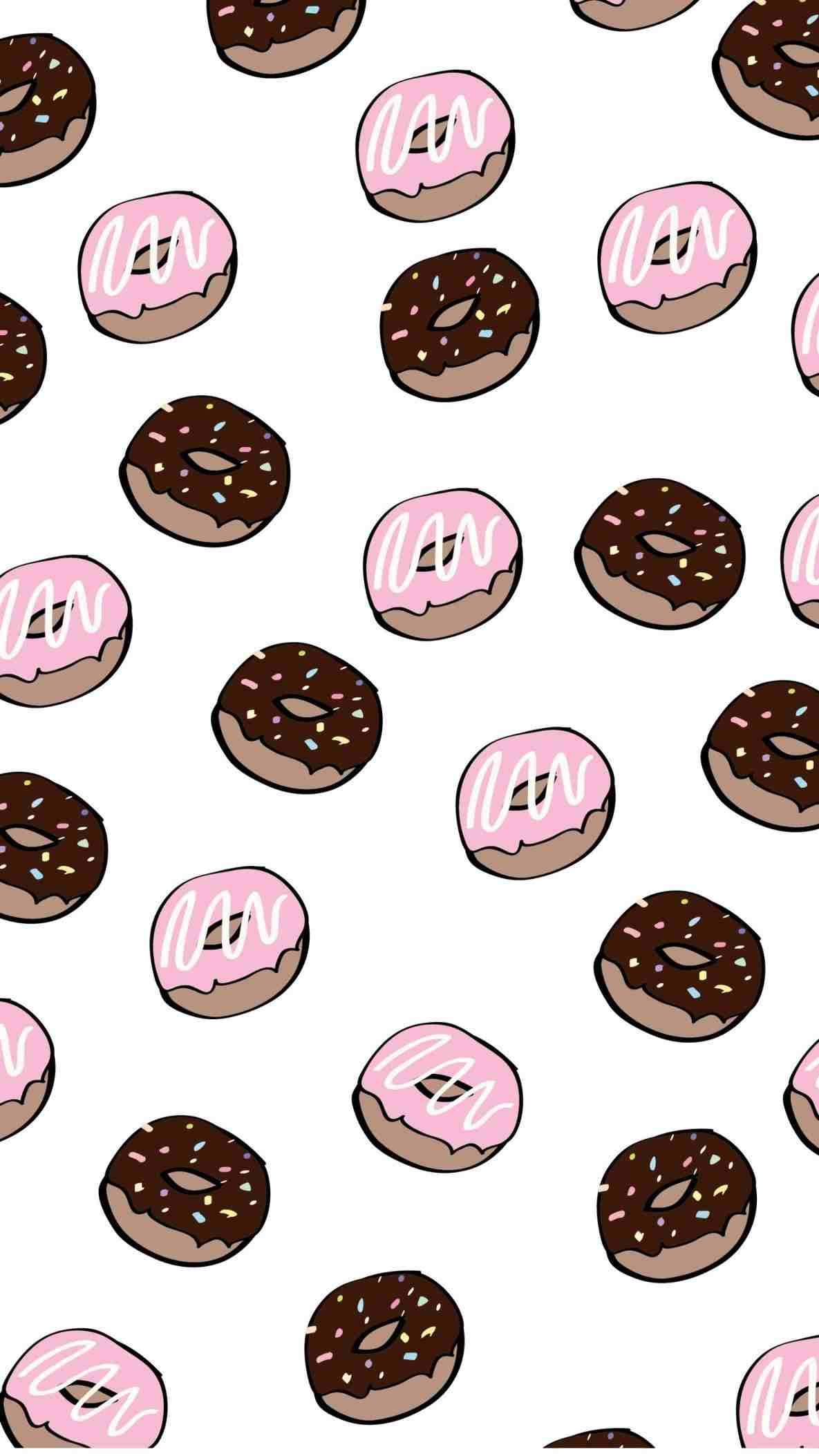 Donut Wallpapers Wallpaper Cave
