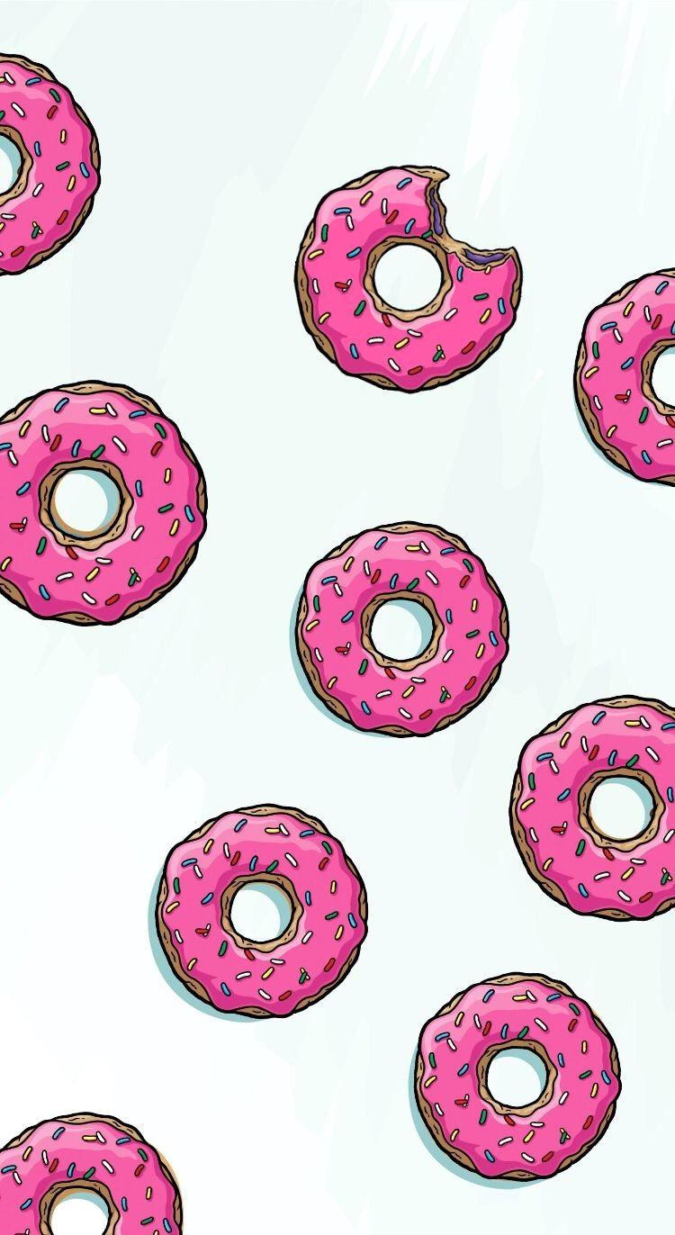 Donut wallpaper. Wallpapers cave