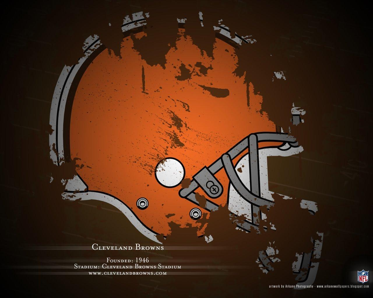 Cleveland Browns wallpapers 1280x1024 desktop backgrounds