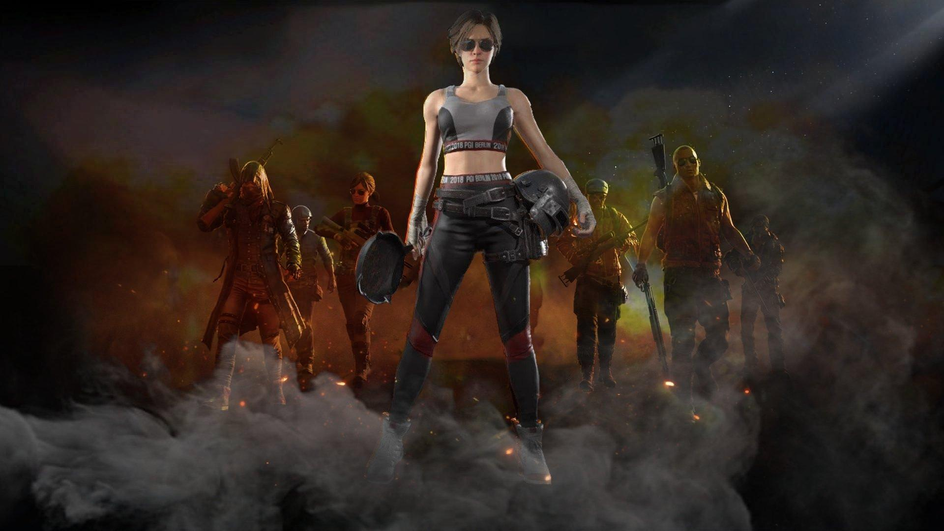 Pubg Zombie Wallpapers Wallpaper Cave