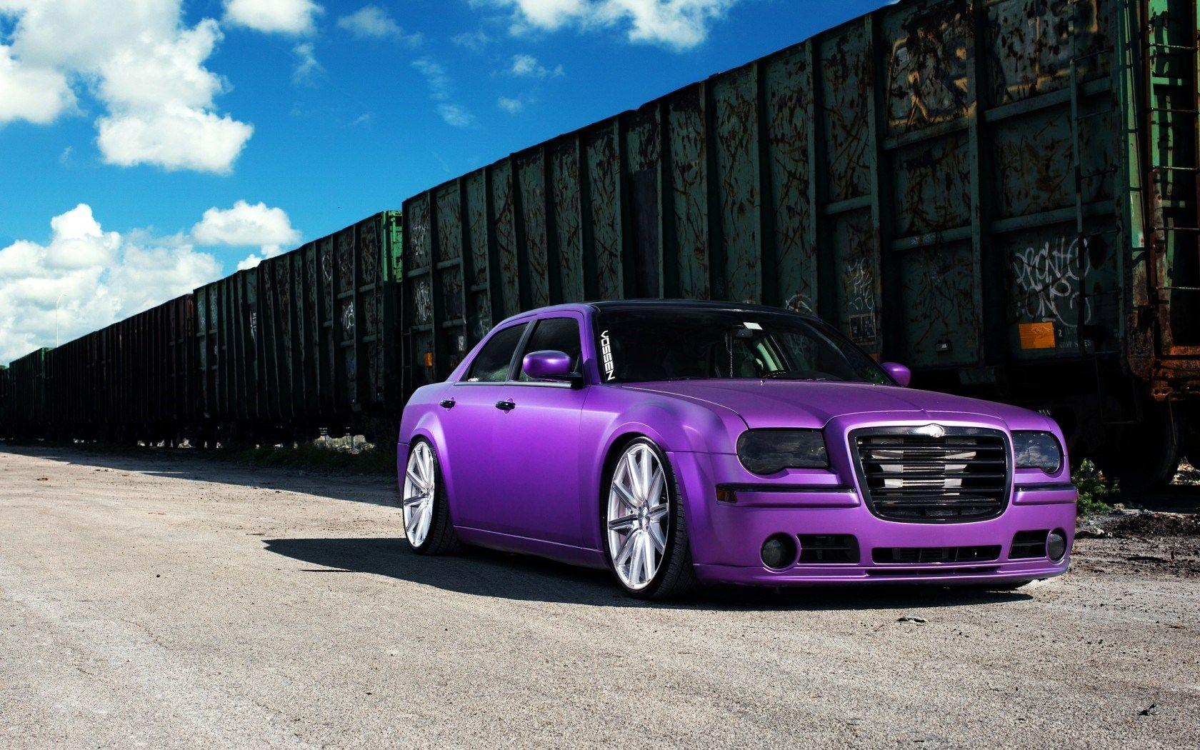 Chrysler Purple Car HD Wallpaper Expensive Cars,HD Wallpaper,Images ...