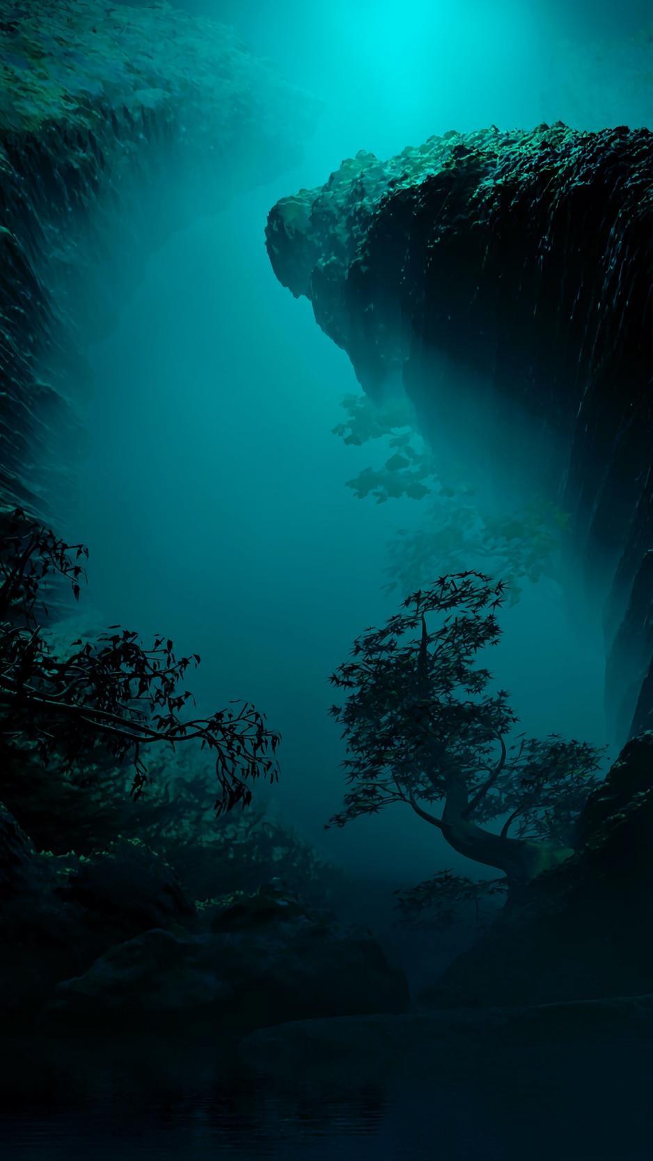 Underwater Caves Wallpapers Wallpaper Cave