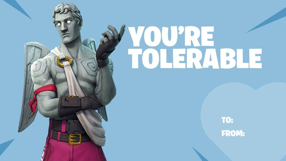 Fortnite on Twitter: Happy Valentine's Day! Tag your Valentine and