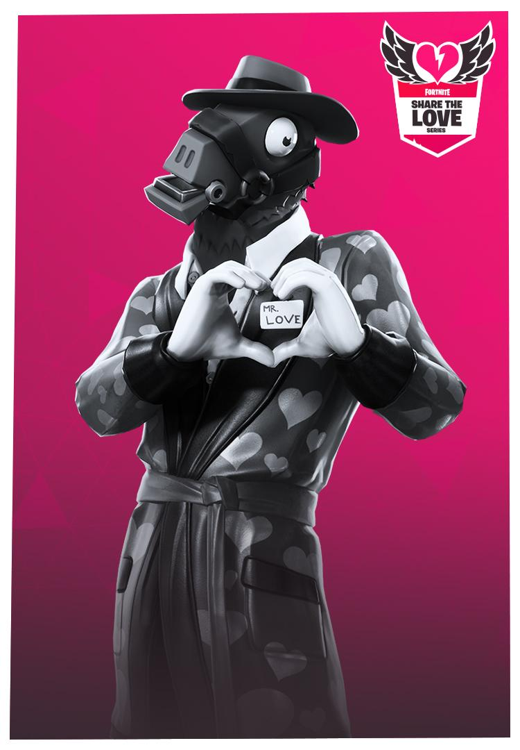Share the Love Fortnite wallpapers