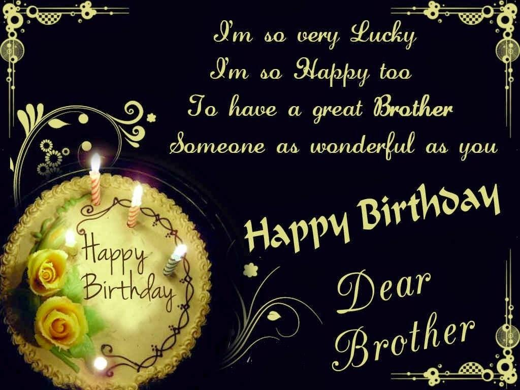 Happy Birthday Brother Wallpapers Wallpaper Cave