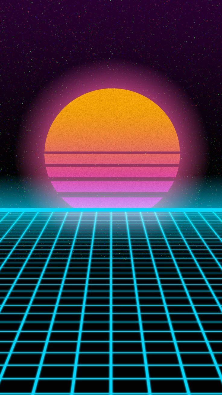 Pin on Rainbow Synthwave