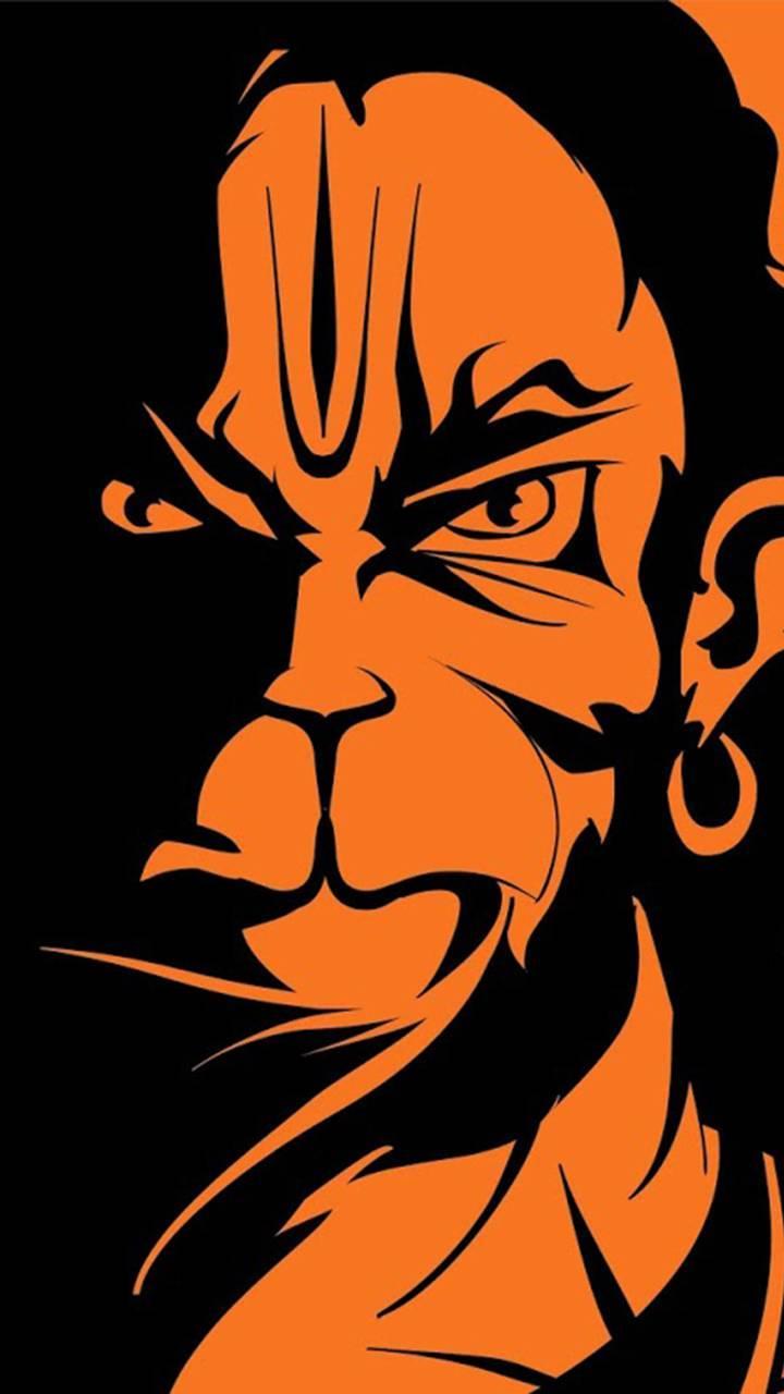 Angry Hanuman Wallpapers Wallpaper Cave
