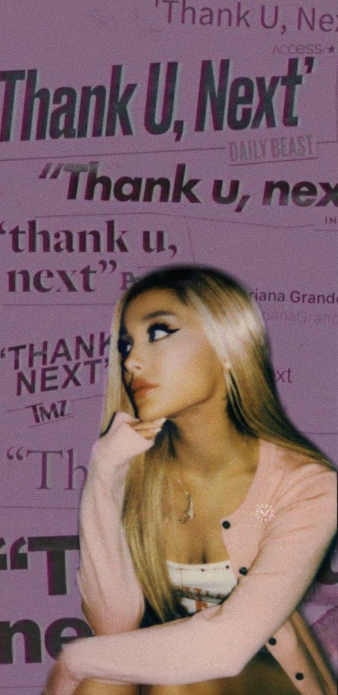 Thank U Next Ariana Grande Wallpapers Wallpaper Cave