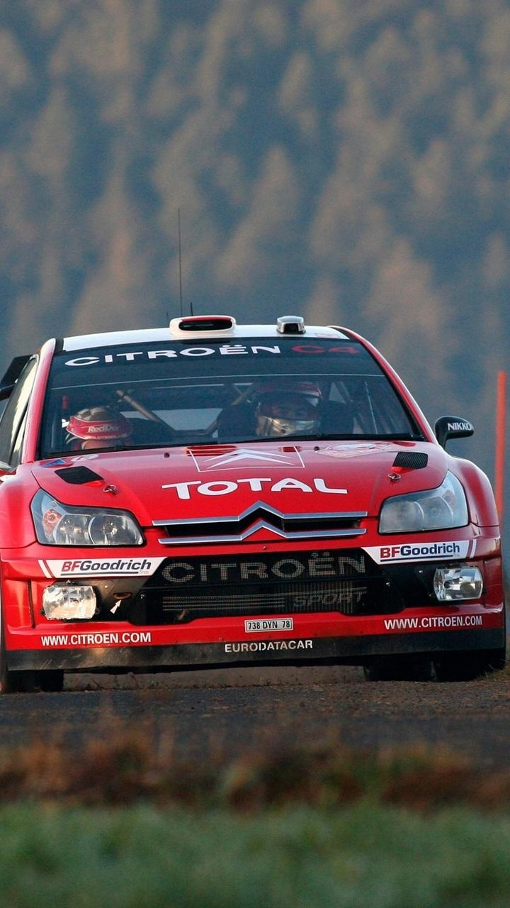 720x1280 wrc, auto, c4, rally, red, red, lights, rally, citroen