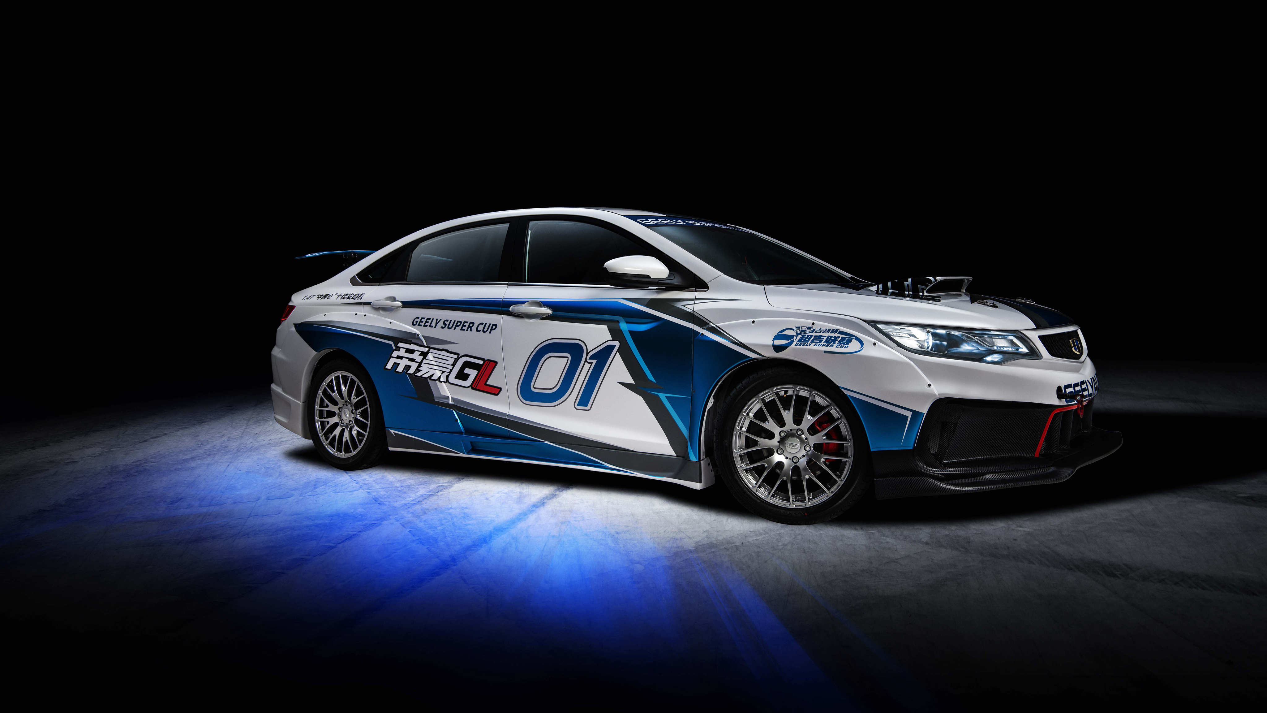 Geely Emgrand GL Race Car 2018 4K 3 Wallpapers