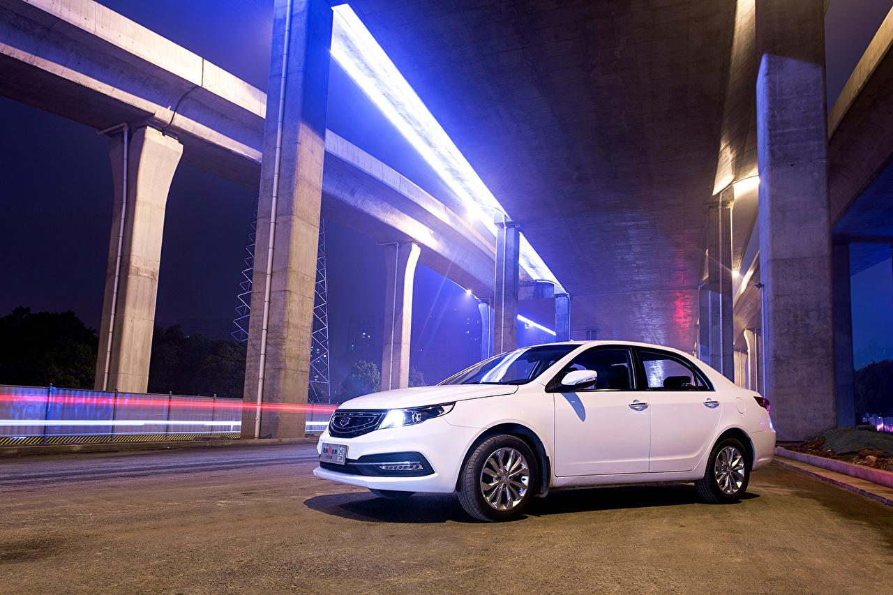 Image 2015 Geely GC7 Vision White Cars