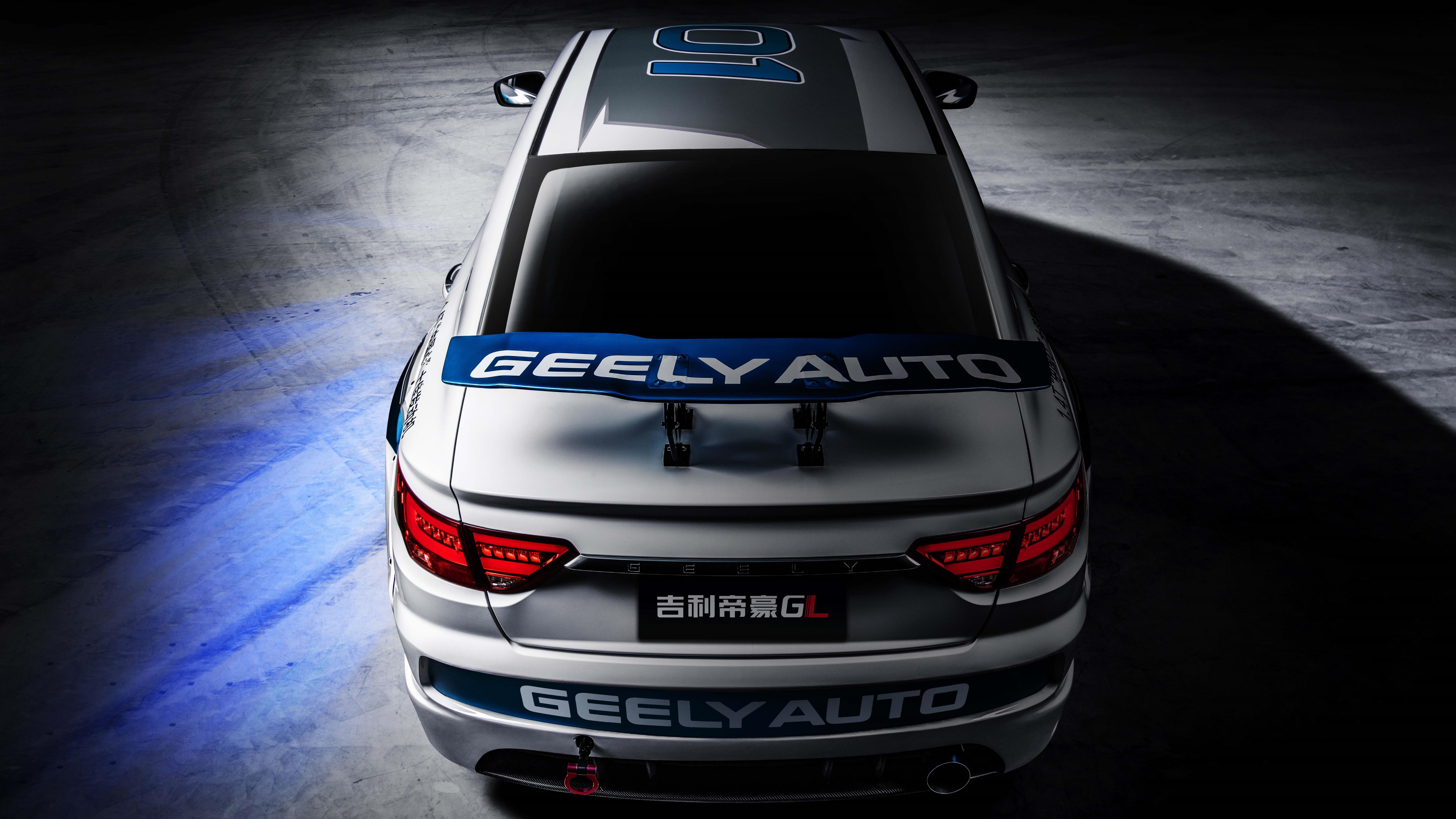 Geely Emgrand GL Rear View 8K UltraHD Wallpapers