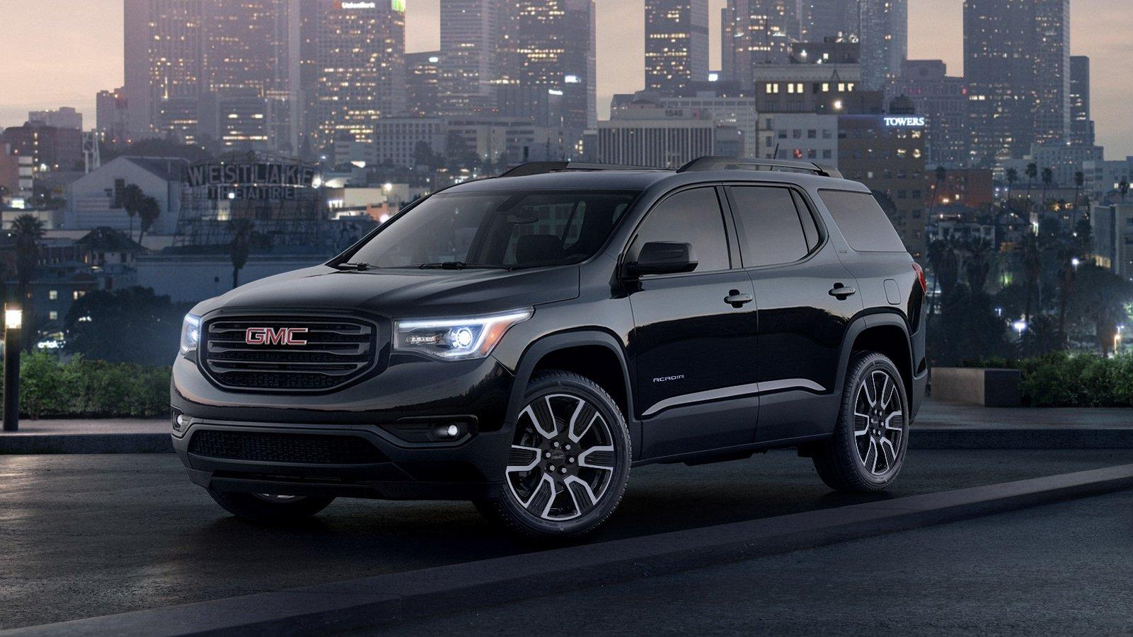2019 GMC Acadia Black Edition Pictures, Photos, Wallpapers. | Top Speed