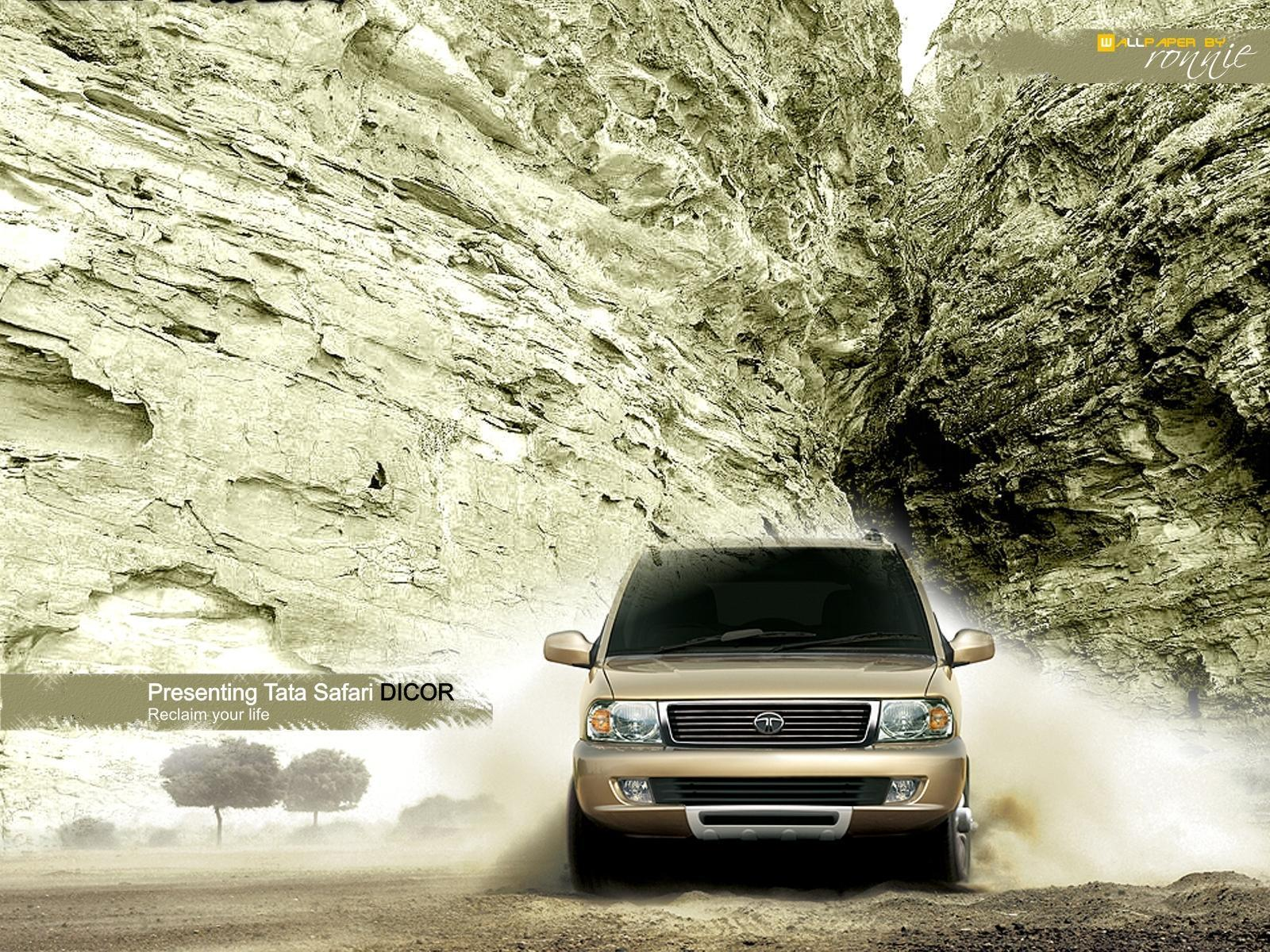Tata Motors – Safari Dicor Wallpapers by Cars-wallpapers.net