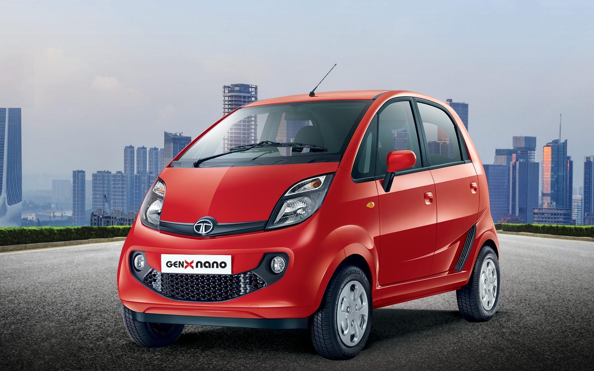 Tata New GenX Nano - Wallpapers