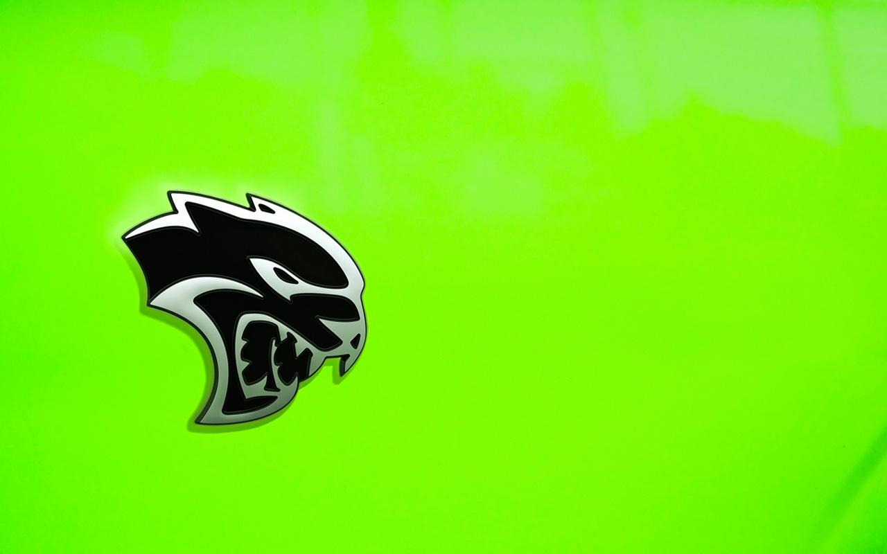Dodge Hellcat Logo Wallpapers Wallpaper Cave