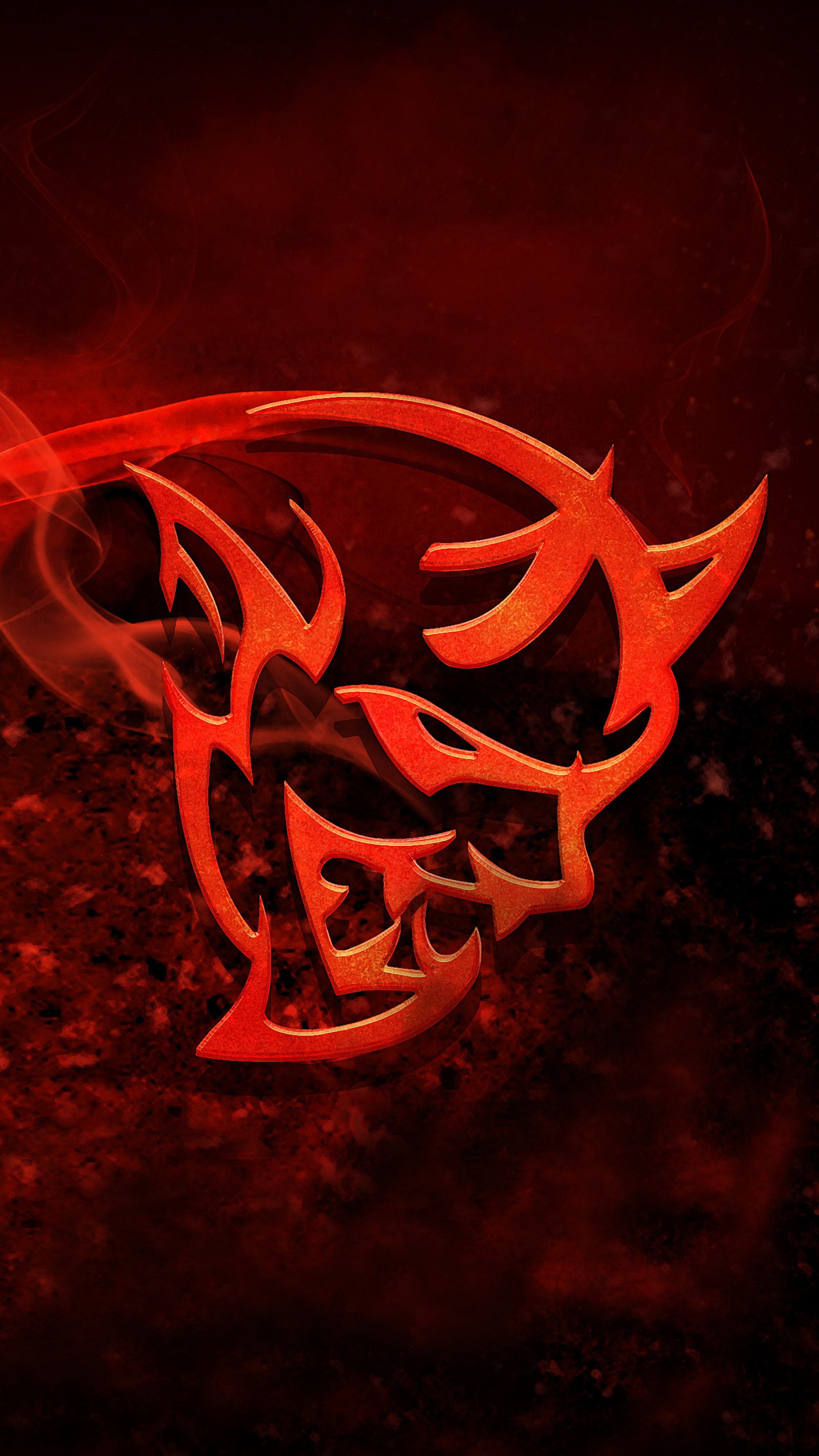 Dodge Demon Logo Wallpapers Wallpaper Cave