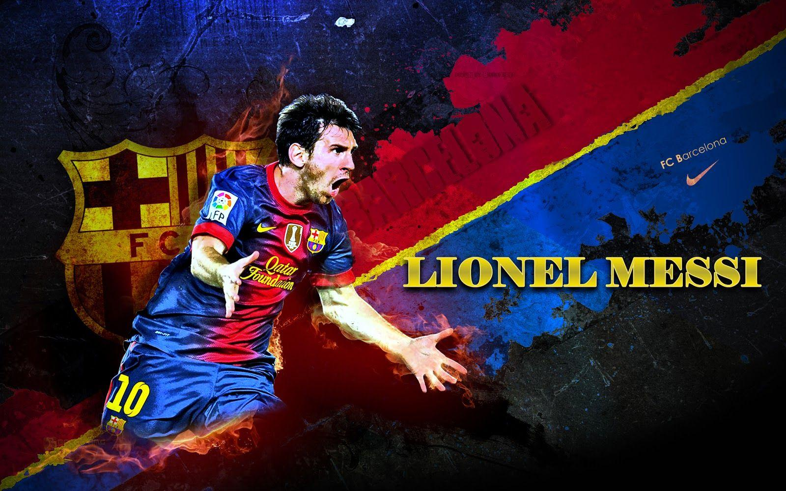 Fc Barcelona Lionel Messi Wallpapers Wallpaper Cave