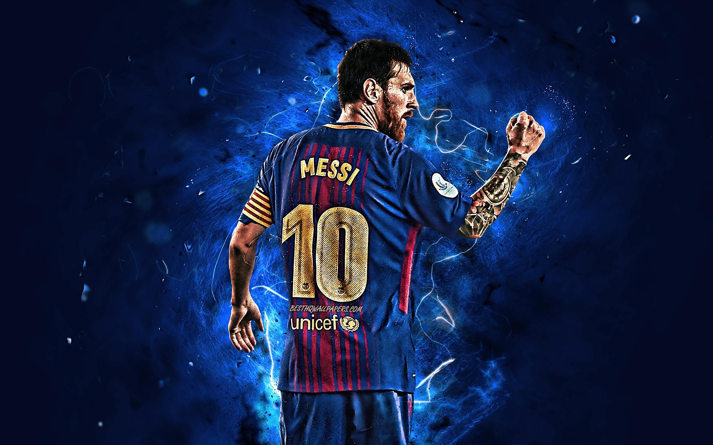 FC Barcelona Lionel Messi Wallpapers - Wallpaper Cave